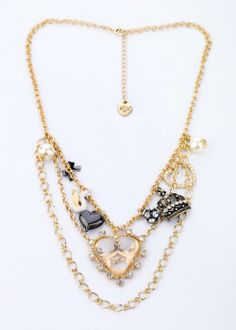 Gorgeous double layers necklace, really like it and i am addicted into the luxuriouos gemstones, so cute, love it!!!