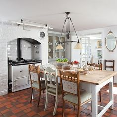 Kitchen-diner | Take a tour around a light and bright cottage in County Antrim | House tour | PHOTO GALLERY | 25 Beautiful Homes | Housetoho...