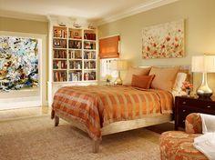 contemporary bedroom by Melanie Coddington