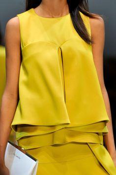 Guy Laroche at Paris Fashion Week Spring 2014 - StyleBistro