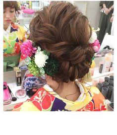 ふわゆるアップ♡ 。 。 #hair #saichunhair#gekkabijin #style #hairset #kimono #braid#hairarrange #hairmake #和髪#着物 #和装 #hairstyle #セットサロン #ブライダル#bridalhair #uphair #wedding#編み込み #撮影#結婚式#bridal#二次会#花嫁#卒業式#成人式#fashion#ヘアセット#ヘアメイク#ヘアアレンジ