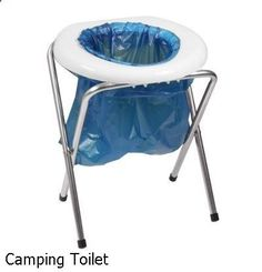 Camping Toilet - superb variety. Need to explore...