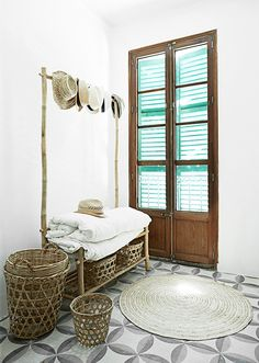 Un apartamento fresco y veraniego en Palma #hogarhabitissimo