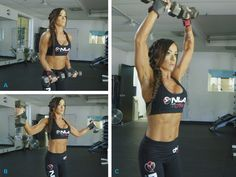 Build shoulders that pop with this quick, tough workout from an experienced bikini competitor.
