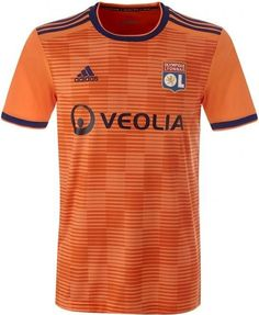 f485dfa35e06b OLYMPIQUE LYONNAIS OL ADIDAS FOOTBALL CLUB Third 2018 - 19 FÚTBOL SOCCER  CLUB KIT CALCIO SHIRT
