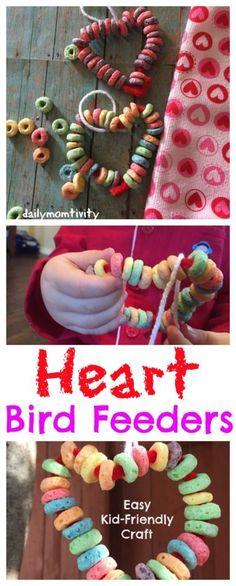 Valentine Heart Bird Feeder