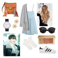 """Ideal type of Jhope"" by bts-outfit-imagines on Polyvore featuring The Great, adidas, Chloé, Elwood, Lydell NYC, Estée Lauder and Topshop"