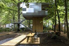 Urban Treehouse, Berlino, 2014 - baumraum