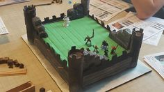 Dungeons and Dragons Castle Cake