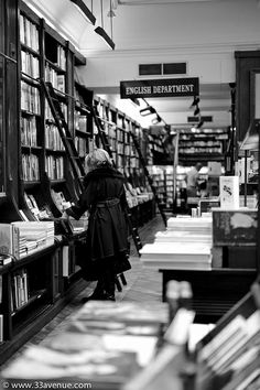 Librairie Galignani, Paris, France. It's the oldest English bookshop on the continent. Est. in 1801, it's been run by six generations of the Galignani family. In 1856 the shop was moved to rue de Rivoli, which remains the current address. The store is known for its high quality stock, large choice of art & fashion books, and for its famous customers. The bond between the Galignanis and books dates all the way back to early 16th century - they were among the first publishers to use printing…