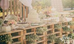Decoração de Casamento com Pallets! - Beta Lotti