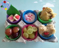 Fast, simple and easy lunch bento for Easter. Suitable for 18 month baby. #easterkids #healthyeating