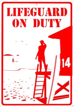 Lifeguard On Duty Clip Art