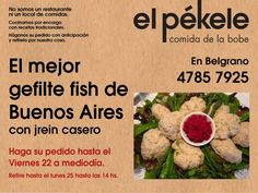 """El pekele  The 'doggy-bag'.- Jewish Argentina .. """"With Love, The Argentina Family~Memories of Tango and Kugel; Mate with Knishes""""- http://www.amazon.com/With-Love-The-Argentina-Family/dp/1478205458"""