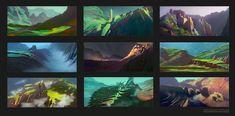 ArtStation - Environment Design Part 02 - Advanced Coloring Techniques in Photoshop, Stéphane (Wootha) Richard