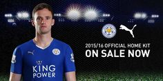 Nice Day Sports: Leicester City 2015-16 PUMA Home Kit Jersey Shirt ...