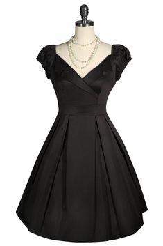 La Petite Boutique Collar Dress (Black) – Kitten D'Amour