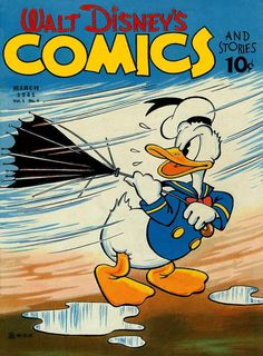 Cover for Walt Disney's Comics and Stories (Dell, Mar 1941) #v1#6