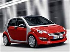 Smart ForFour. This is the car that changed the name of the City Coupe to the ForTwo.