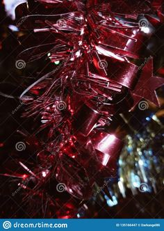 Photo about Red christmas decoration with a star close-up, photographed on christmas tree, indoors in Romania. Image of yellow, shining, star - 135166447 Shining Star, Red Christmas, Romania, Christmas Decorations, Indoor, Yellow, Nature, Image, Beautiful