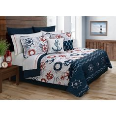 Safdie and Co. Collection Bay Harbour 4 Piece Quilt Set, Twin * More info could be found at the image url. (This is an affiliate link)