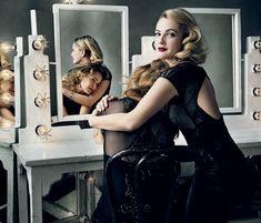 Jessica Lange and Drew Barrymore by Annie Leibovitz