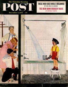 The Saturday Evening POST Illustration by John Falter 1955