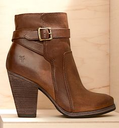 "Women's Frye 'Patty' Leather Riding Bootie, 3"" heel 