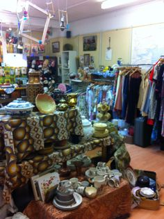 Cheadle vintage charity shop Stockport