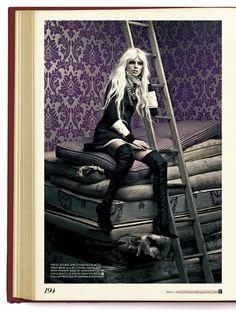 FASHION CANADA- Pamela Bernier in Heroine by Chris Nicholls.