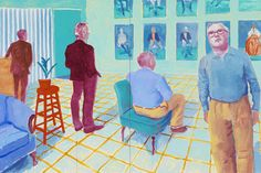 "Pace Gallery - ""Some New Painting (and Photography)"" - David Hockney"