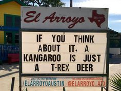 Never change El Arroyo. Corny Jokes, Dad Jokes, Haha Funny, Funny Memes, Funny Stuff, Hilarious, Funny Shit, Fun Signs, Clever Quotes