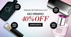 Gente são vários perfumes com pelo menos 40% de desconto, nesta campanha especial. Aproveitem logo antes que acabe! Ofertas imperdíveis!