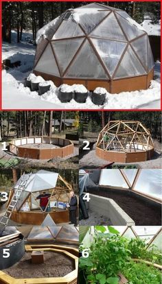 How to make the small greenhouse? There are some tempting seven basic steps to make the small greenhouse to beautify your garden. Dome Greenhouse, Cheap Greenhouse, Build A Greenhouse, Indoor Greenhouse, Greenhouse Gardening, Greenhouse Ideas, Homemade Greenhouse, Portable Greenhouse, Greenhouse Heaters