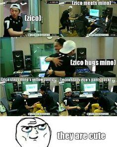 Block B Zico & WINNER Mino