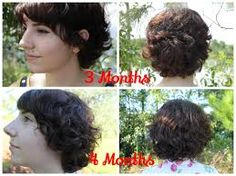 Image result for growing out short hair