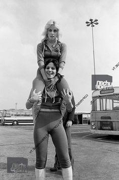 "therunawaysfanclub: "" The Runaways, Europe Tour, 1976 """