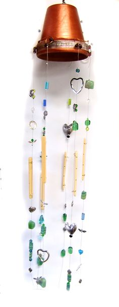 button jewelry how to make   Easy DIY Button Jewelry, Terra Cotta Pot Windchimes   DIY Jewelry ...