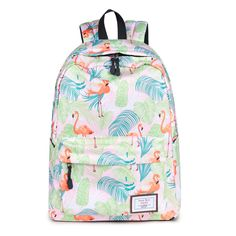 CIKER Hot waterproof women backpack cute fashion Flamingo printing backpacks  for teenagers women s school bags mochilas 144d94a331690