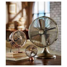 Holmes® Metal Desk Fan, Medium, Bronze (HDF0646-CT). Image 5 of 6.
