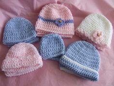 Crochet-Basic Infant Hat
