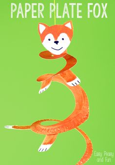 Fun Paper Plate Fox Crafts for Kids