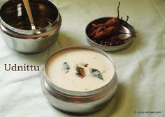 Uddina Hittu | Udnittu Recipe - Udupi Recipes