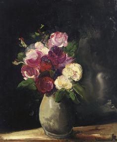 Vase de fleurs, Maurice de Vlaminck. (1876 - 1958)