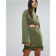a1c3388351e Puma X Fenty Kimono Sleeve Suspender Dress (3.983.505 IDR) ❤ liked on