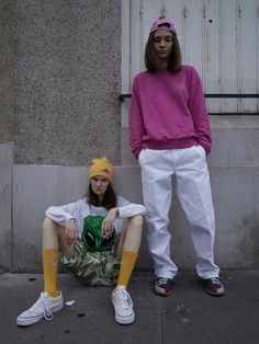 GOSHA RUBCHINSKIY SS15 - slaventiy #street #style #fashion Streetwear, 90s Fashion, Womens Fashion, Style Fashion, Mode Editorials, Cool Style, My Style, Couture, Mode Inspiration