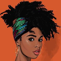 Artists That Show The Beauty And Versatility Of Natural Hair ~ künstler, die die schönheit und vielseitigkeit des natürlichen haares zeigen Artists That Show The Beauty And Versatility Of Natural Hair ~ Black Love Art, Black Girl Art, Black Girls, Black Women, Black Art Painting, Black Artwork, Natural Hair Art, Natural Hair Styles, Black Girl Cartoon