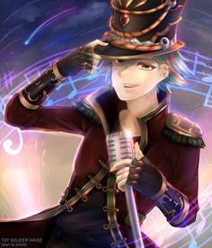Brave Frontier: Toy Soldier Haido by WonderfulSparkles on DeviantArt Brave Frontier, Toy Soldiers, Social Community, Fanart, Deviantart, Artist, Anime, Artists, Fan Art