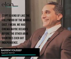 #DigitalMajlis #Quotes #QuoteOfTheDay #BassemYoussef #Egypt #Satirist #TheDemocracyHandbook #AlBernameg #PoliticalSatire #InternationalPressFreedomAward  ‪...