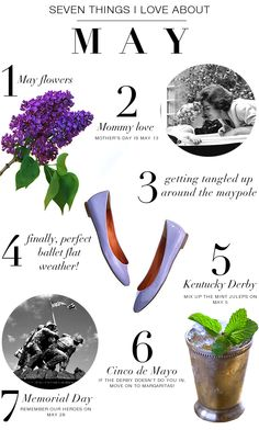 Seven things I love about MAY 2 Cycle Of Life, Hello It, Poster Prints, Posters, Birthday Month, May Flowers, Spring Time, Cool Pictures, Inspiration Boards